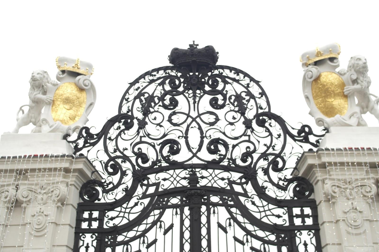 Wien Eingang Schloss Belvedere