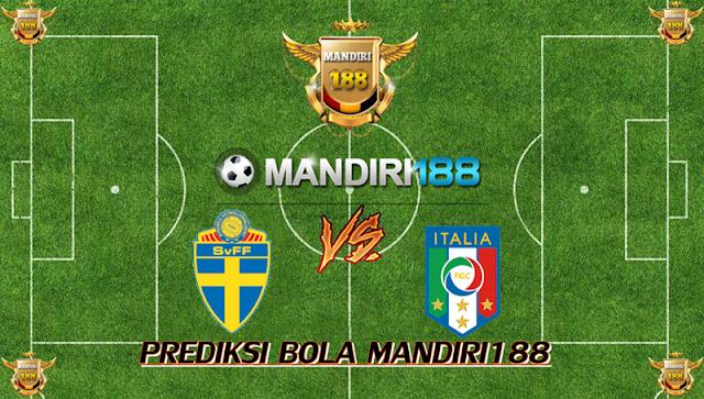 AGEN BOLA - Prediksi Sweden vs Italy 11 November 2017