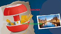 Logo Loacker ''Halloween che Bontà'': vinci 31 Lampade da tavolo Bluetooth e weekend ad Amsterdam