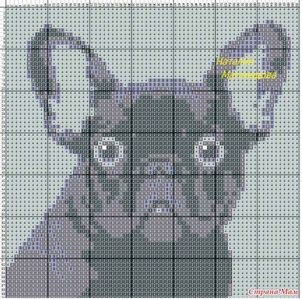 esquema-punto-cruz-perro