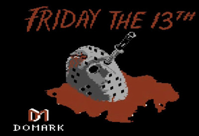 Friday the 13th Commodore 64 Title Screen