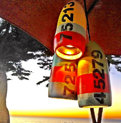 diy nautical lamps