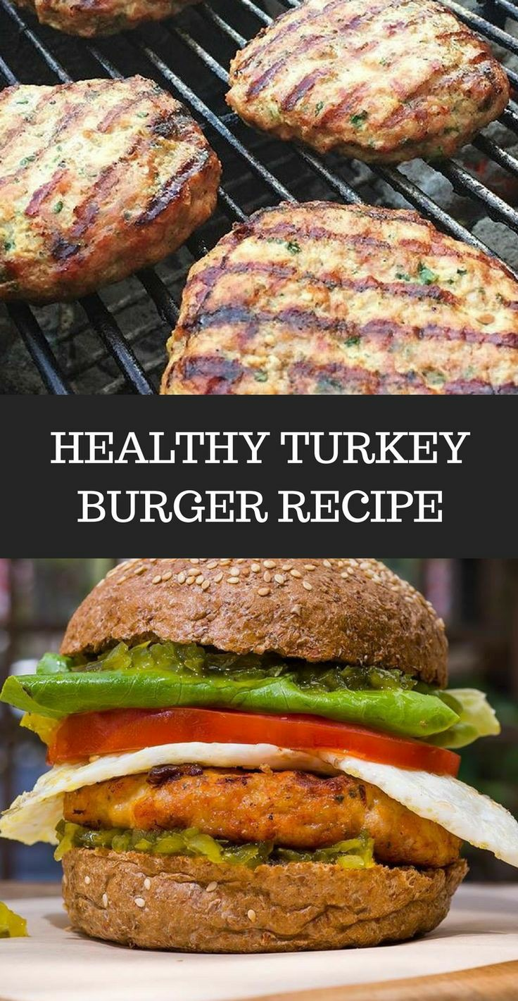 Turkey Burger Recipe - A Healthier Way To Enjoy An American Classic