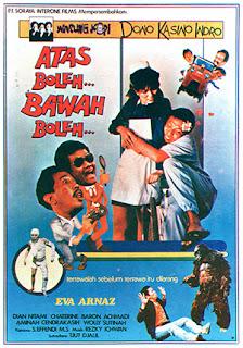 Download Atas Boleh Bawah Boleh (1986) Warkop DKI Full Movie 360p, 480p, 720p, 1080p -