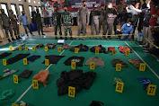 Satgas Madago Raya Sita 39 Barang Bukti Milik Pemimpin Teroris di Poso