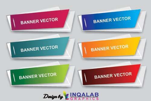 Irregular Shape Banner