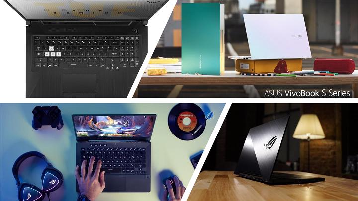 ASUS 4th Gen AMD Ryzen Laptops