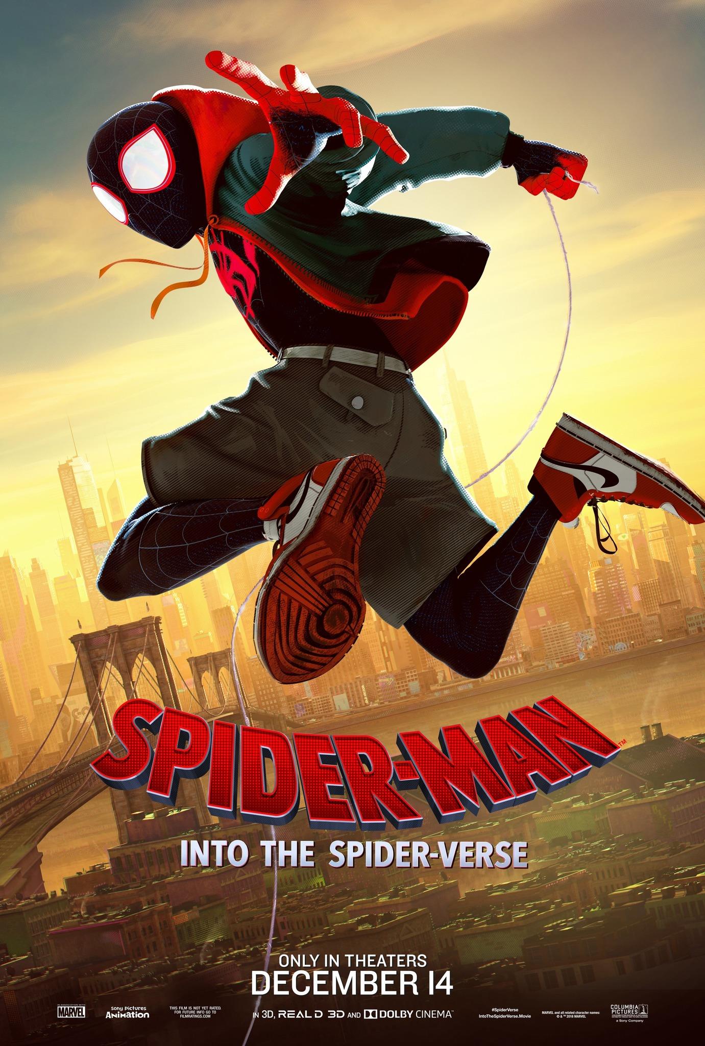ulasan spiderman into the spiderverse 2018  filem