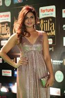 Telugu Actress Aarthi in Deep Neck Backless Golden Gown at IIFA Utsavam Awards 2017 Exclusive 47.JPG