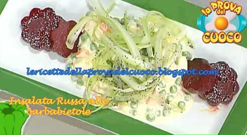 Insalata russa alle barbabietole ricetta da la prova del for Cucinare barbabietole