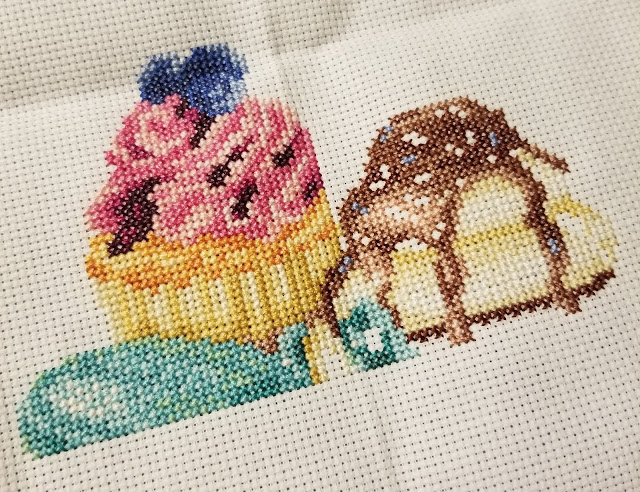 Dessert Counted Cross Stitch