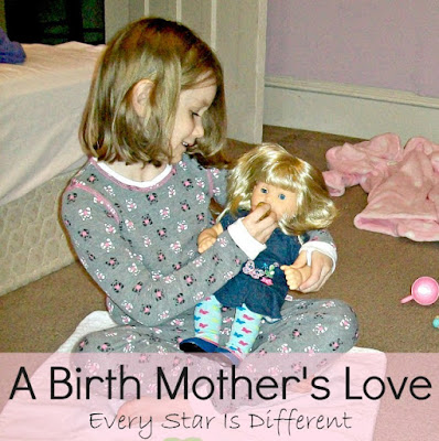 A birth mother's love.