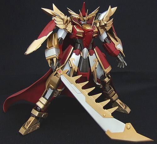 Custom Build: 1/100 Emperor Cao Cao Gundam