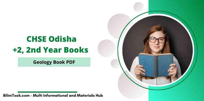 CHSE Odisha Plus Two 2nd Year Geology Book PDF, +2 Arts