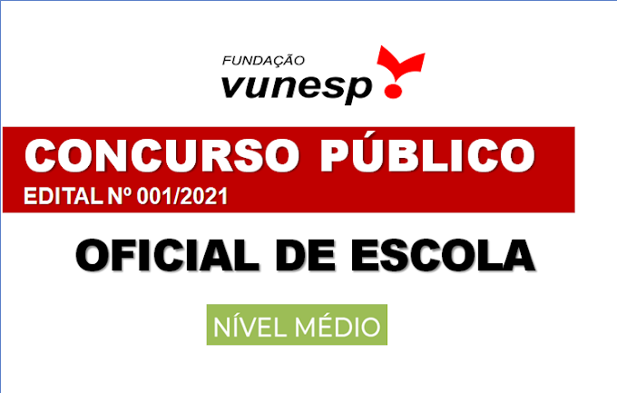Aberto Concurso Público em SP com 80 vagas para Oficial de Escola (Nível Médio). Saiba Mais