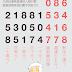 3、4月統一發票中獎號碼(105年)