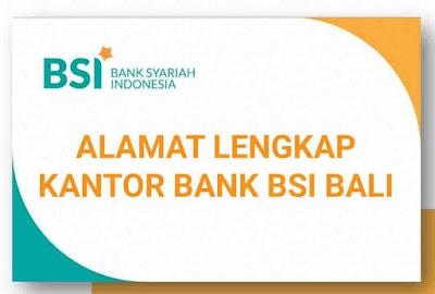 BSI Bali