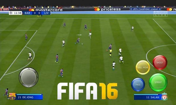 تحميل لعبة FIFA 16 mod 2020 للاندرويد FIFA 16 Mod FIFA 20 Android