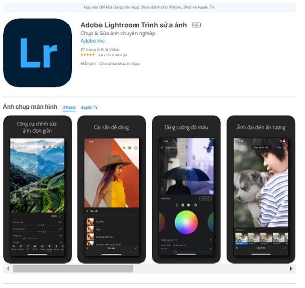 Download Adobe Lightroom và cài đặt full vĩnh viễn mới nhất 2021 ed