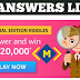 Amazon Special Edition Riddle Answer 20 May 2020 Answers ! Win Rs. 20000 - Money Quiz