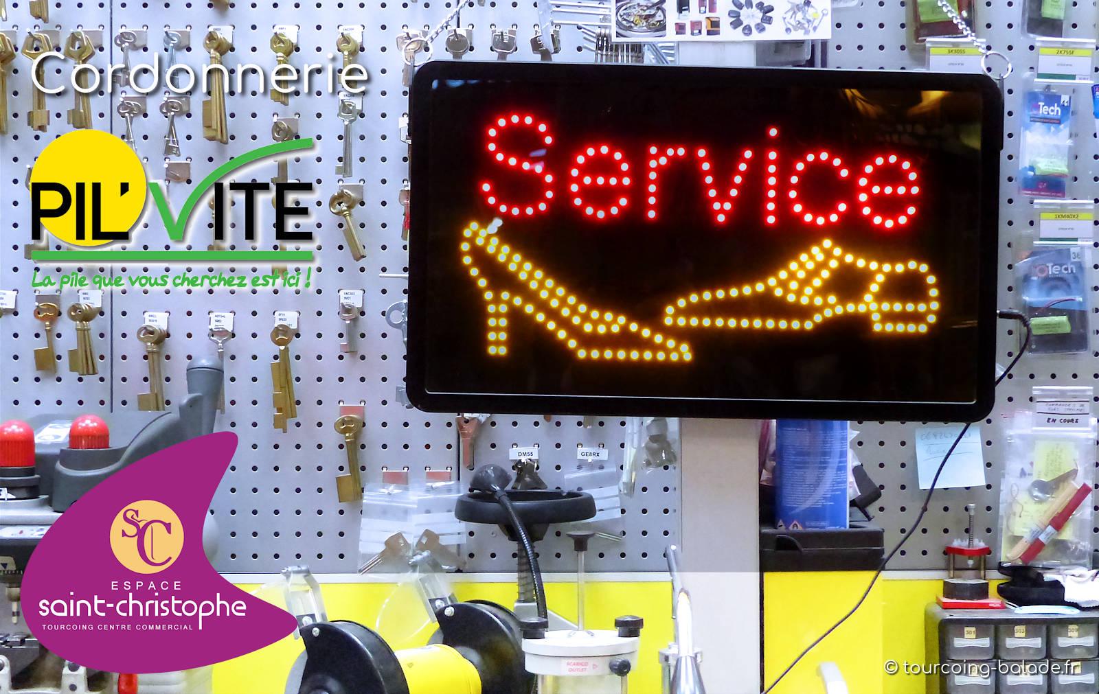 Cordonnier Tourcoing - Pil'Vite, Espace Saint-Christophe Tourcoing