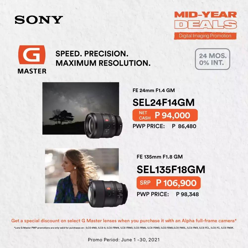Sony G Master Lenses Promo