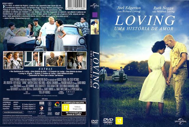 Capa DVD Loving Uma História de Amor