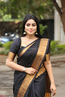 Poorna in Cute Backless Choli Saree Stunning Beauty at Avantika Movie platinum Disc Function ~  Exclusive 149.JPG