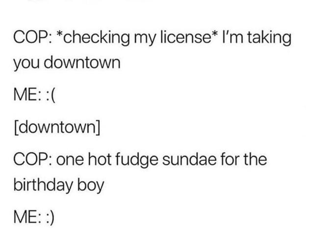 A wholesome birthday surprise