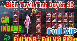 Tải game Trung Quốc Việt Hóa Bích Tuyết Tình Duyên Mobile - Siêu Phẩm Kiếm Hiệp 3D , Free Full Vip + Full KNB & VIP game lậu mobile