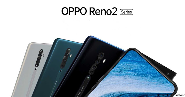 Oppo Reno 2 teasers Reveal Color and details