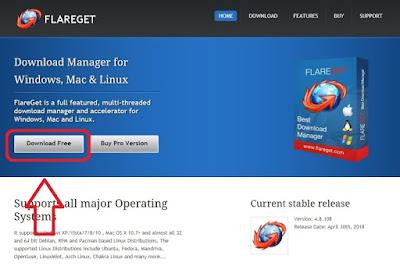 تحميل برنامج FlareGet