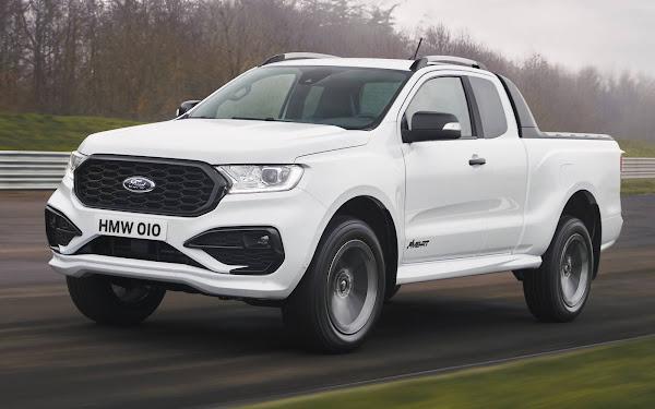 Ford Ranger MS-RT 2022 chega à Europa com visual esportivo