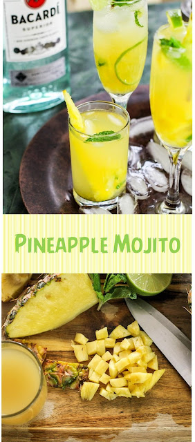 Pineapple Mojito – A Tropical Twist on the Classic Cuban Cocktail