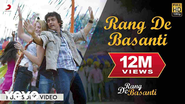 Rang De Basanti lyrics in Hindi & English
