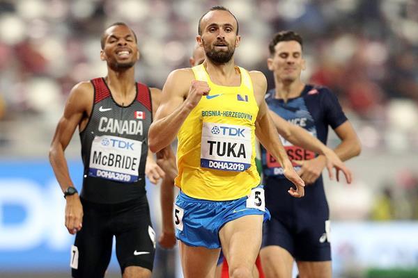 Amel Tuka Bósnia e Herzegovina jogos olímpicos