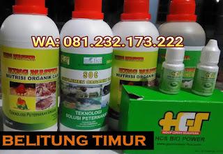 Jual SOC HCS, KINGMASTER, BIOPOWER Siap Kirim Belitung Timur Manggar
