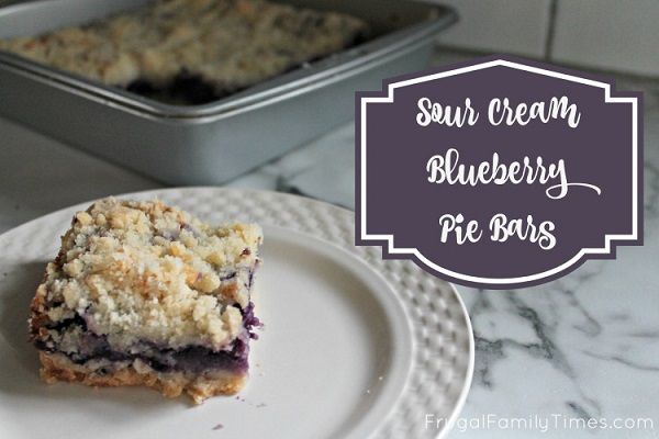 blueberry pie squares