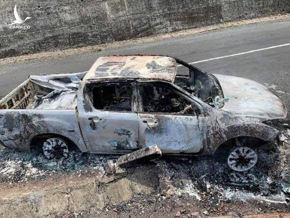 Vụ xe bán tải của Bí thư xã và thi thể cháy rụi: Nghi án giết người, tạo hiện trường giả
