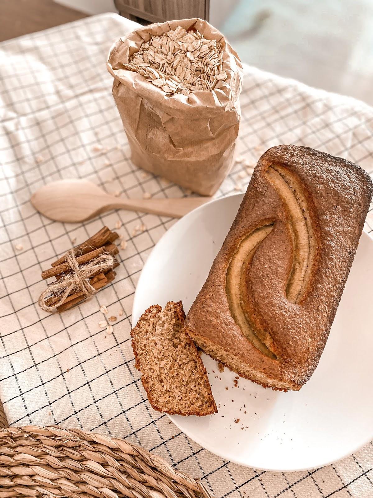 Pan de plátano método BLW