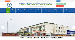 TNTEU B.Ed - M.Ed (1st/2nd Year) Time Table 2020