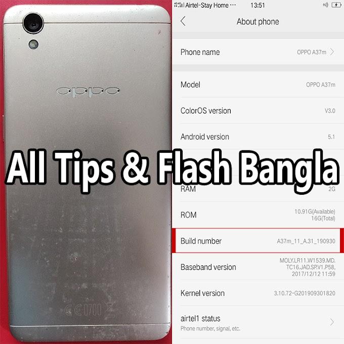 Oppo A37m Flash File | Hang-Logo-Dead-Fix 100%