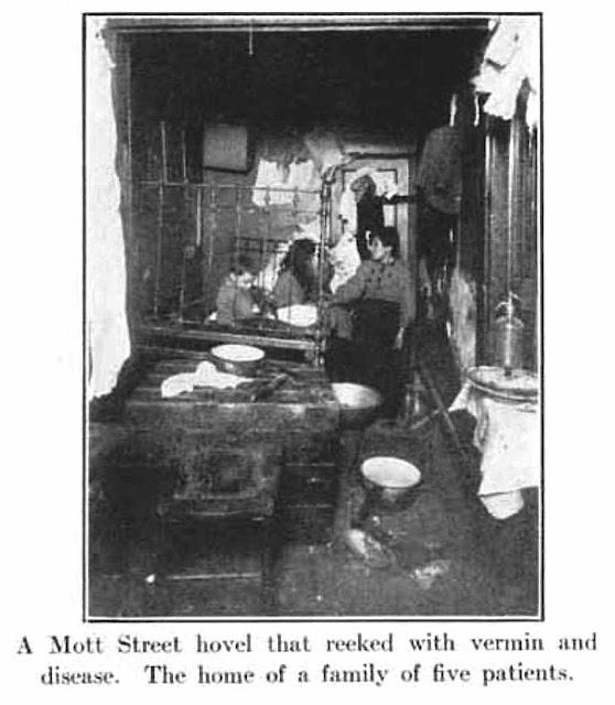 1912 tuberculosis tenement slum