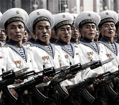 Corea del Norte Fuerza Armada