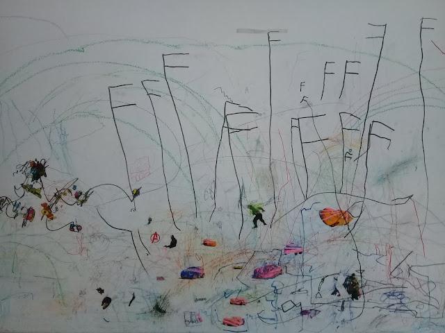 Grafiti Tembok Karya Anak-Anak
