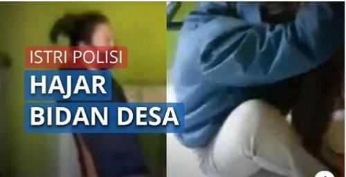 Inilah Alasan Istri Polisi Hajar Seorang Bidan Desa hingga Kritis, Cemburu dan Tuduh Pelakor