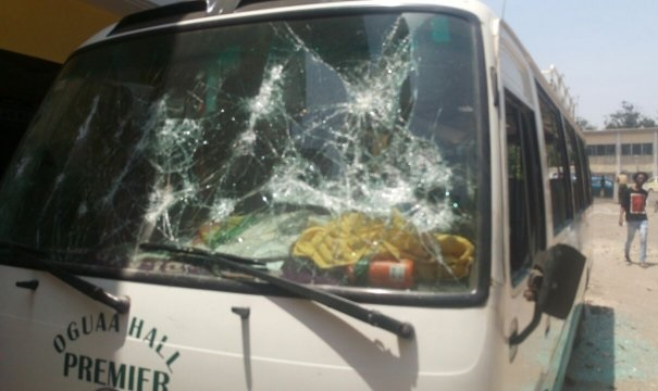 UCC suspend 22 students over ATL, Oguaa hall clashes