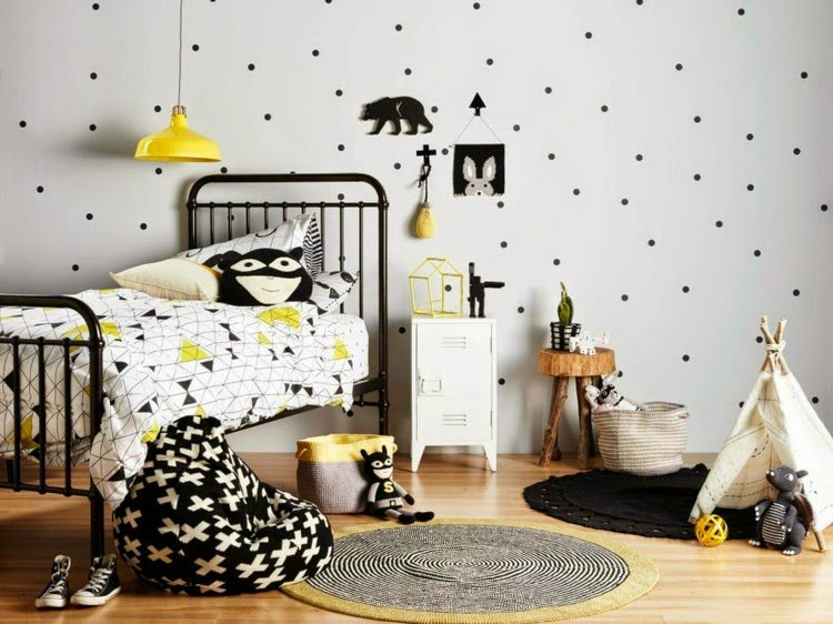 Ideas para decorar cuartos infantiles n rdicos colores - Ideas para decorar habitaciones infantiles ...