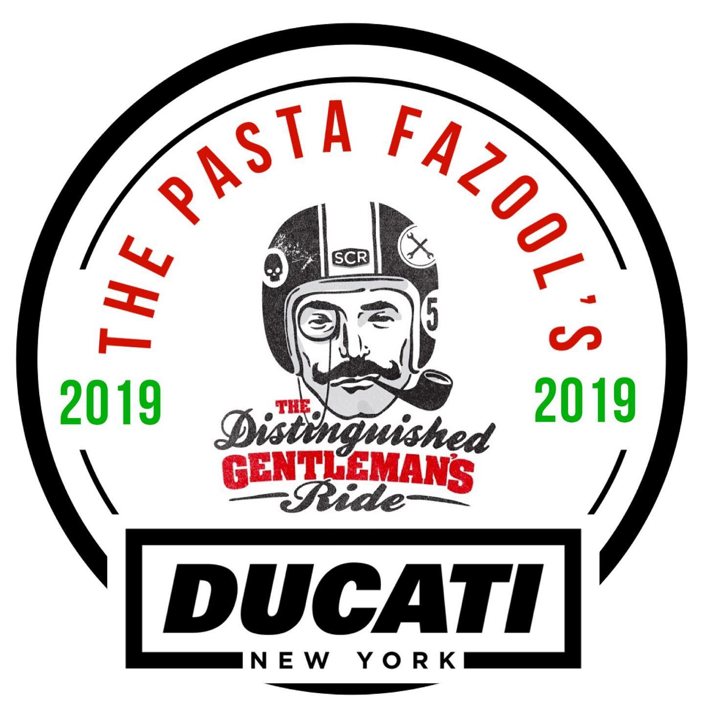 Distinguished Gentleman's Ride with the Pasta Fazools of Ducati New York