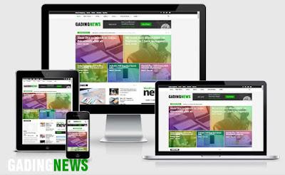 Situs Web Berita Responsive